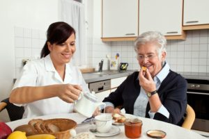 Home Care Services in Highland Park IL: Caregiver Requesting Assistance
