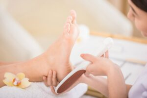 Elderly Care in Northfield IL: Senior Foot Care Plan