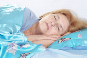 Home Care Services in Deerfield IL: Senior Starting to Snore