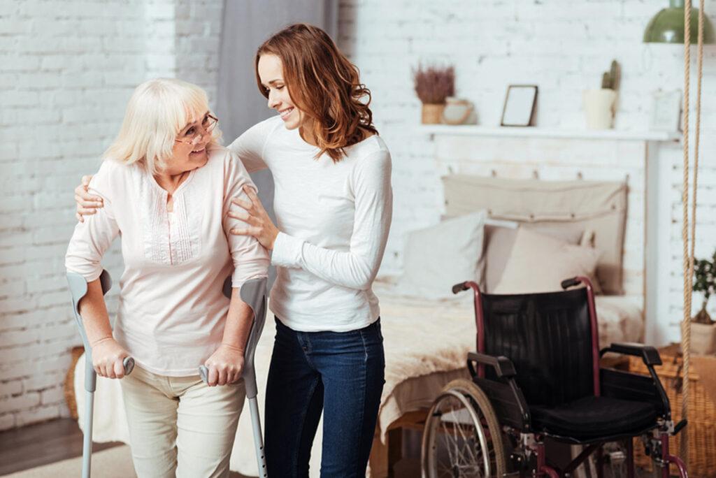 Elderly Care in Glencoe IL: Maintaining Her Balance