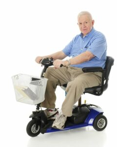 Home Care Services in Northfield IL: Mobility Scooters