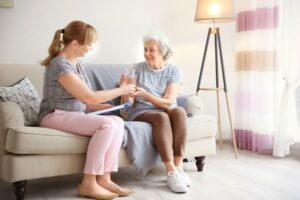 Caregiver in Libertyville IL: Saying No