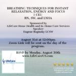Breathing Techniques CEU August 31st